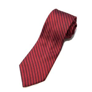BROOKS BROTHERS Makers Silk Stripe Mens Neck Tie